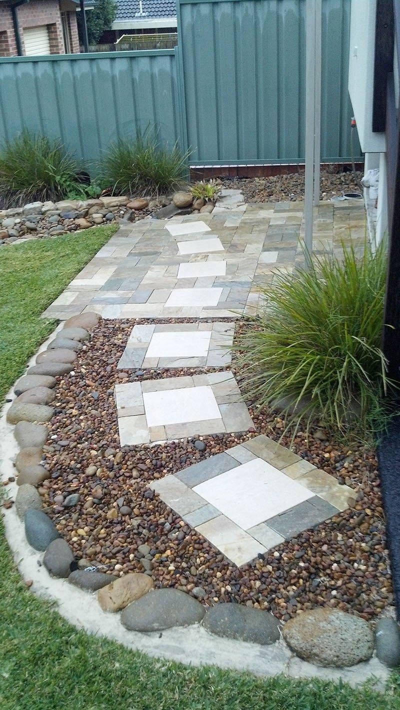 Paved walkways and footpaths - Pacific Brick Paving
